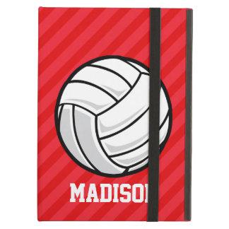 Voleibol; Rayas del rojo del escarlata
