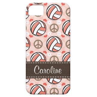 Voleibol rosado funda para iPhone SE/5/5s