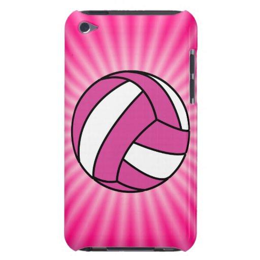 Voleibol rosado iPod Case-Mate cárcasa