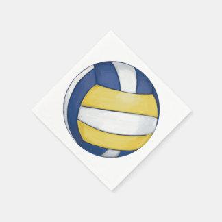 Voleibol Servilletas De Papel
