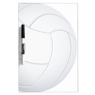 voleibol tablero blanco