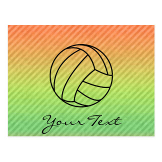 Voleibol; Tarjetas Postales