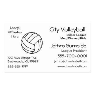 Voleibol Tarjetas De Visita
