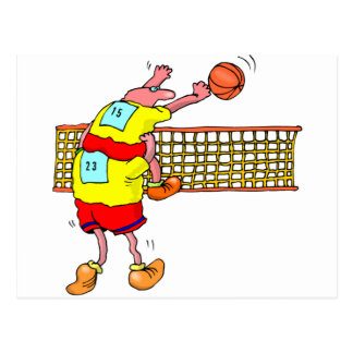 Voleibol Tarjetas Postales
