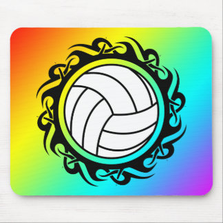 voleibol tribal mouse pad