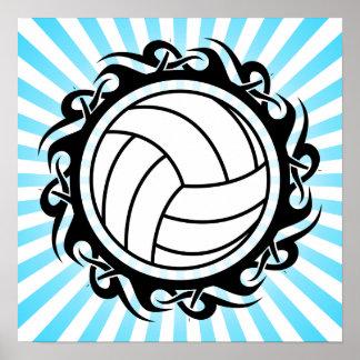 voleibol tribal impresiones