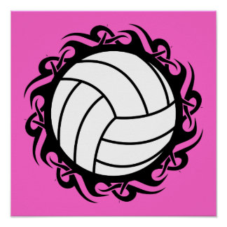 voleibol tribal posters