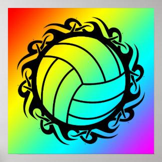voleibol tribal poster