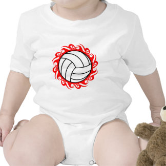 voleibol tribal traje de bebé
