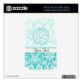 Voleibol; Trullo lindo Calcomanías Para iPod Touch 4G