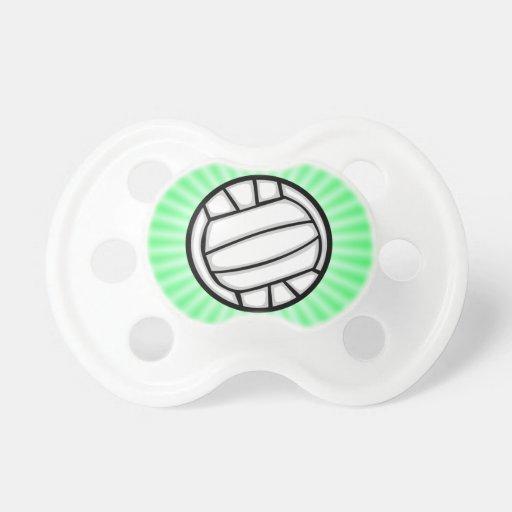 Voleibol verde chupete