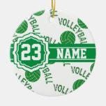 Voleibol verde ornamento de reyes magos