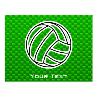Voleibol verde postal