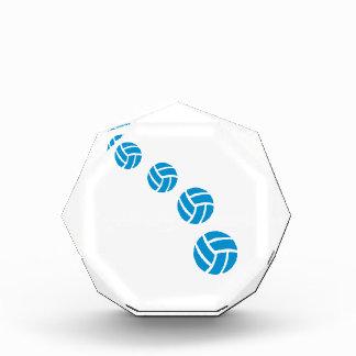 Voleiboles azules