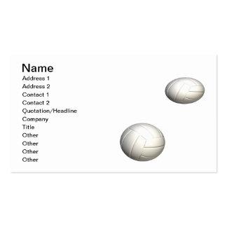 Voleiboles Tarjetas De Visita