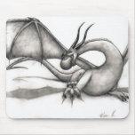 Voleo Mousepad del dragón Alfombrillas De Ratón
