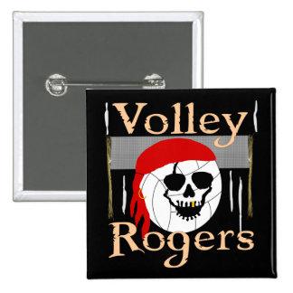 Voleo Rogers filibustero Pin