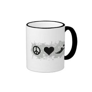 Voleyball 1 ringer mug