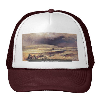 Volga Lagoons By Wassiljew Fjodor Alexandrowitsch Mesh Hats