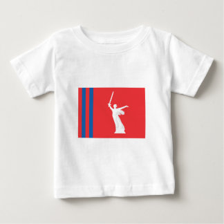 Volgograd Oblast Flag Baby T-Shirt