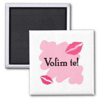 Volim te - Croatian I love you Magnet