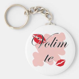 Volim te - Serbian - I Love You Keychain