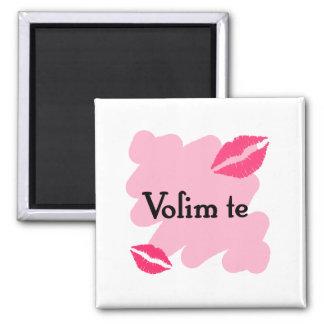 Volim te - Serbian I love you Magnet