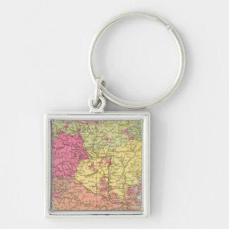 Volkerkarte v Oesterreich Ungarn, Austria Hungary Keychain