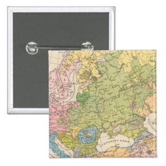 Volkerkarte von Europa, Map of Europe Pin