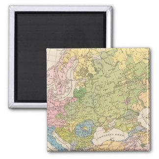 Volkerkarte von Europa, Map of Europe Magnets