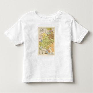 Volkerkarte von Russland - Map of Russia Toddler T-shirt
