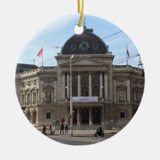 Volkstheater Vienna Austria Ceramic Ornament
