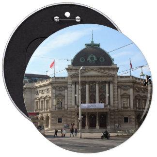 Volkstheater Vienna Austria Pinback Button