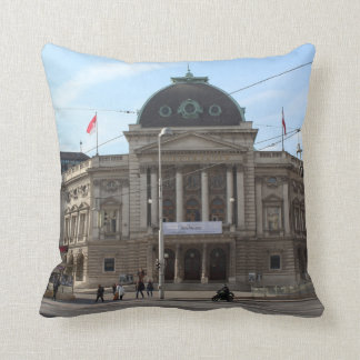 Volkstheater Vienna Austria Throw Pillow