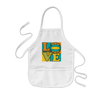 Volleball Love Kids' Apron