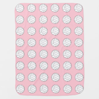Volley Ball Baby Receiving Blanket