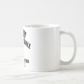 Volley ball designs coffee mugs