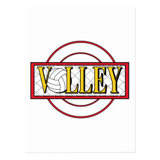 Volley Ball Postcard