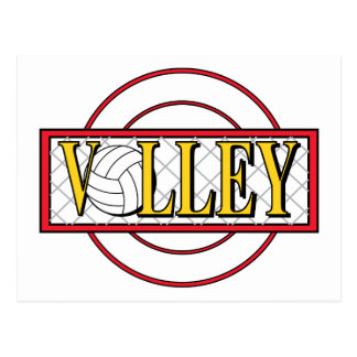 Volley Ball Postcards