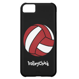 Volley Chick (customizable) iPhone 5C Covers