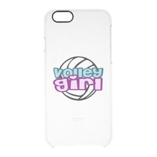 Volley Girl Clear iPhone 6/6S Case