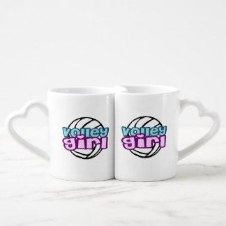 Volley Girl Coffee Mug Set
