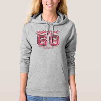 Volley Girl Custom Pullover Hoodie