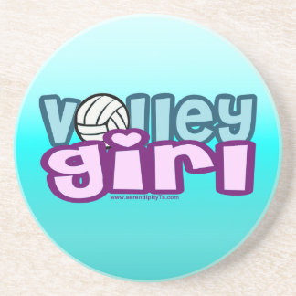 Volley Girl Drink Coaster
