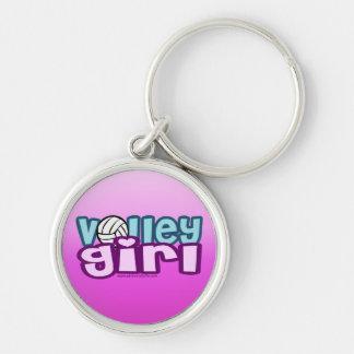 Volley Girl Keychain