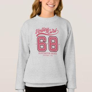 Volley Girl No. 68 Custom Kids Sweatshirt