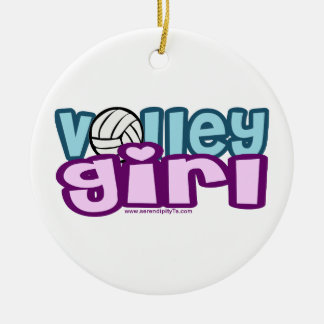 Volley Girl Christmas Tree Ornament