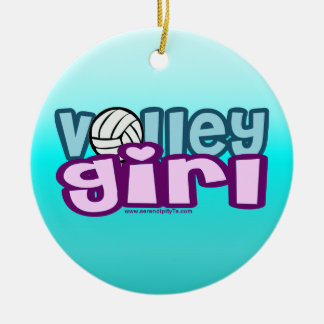 Volley Girl Christmas Tree Ornaments