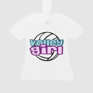 Volley Girl Ornament