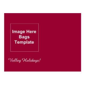 Volley Holiday Postcard Template